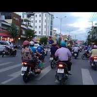 Még motorozás Nha Trangban