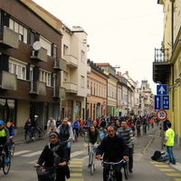 Bringázható hidakért vonult a 20. Critical Mass Szeged