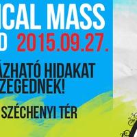 Critical Mass 2015.09.27. MENETINFÓ - frissülhet