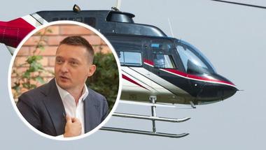 Helikopter, mert Rogán Tóni megérdemli