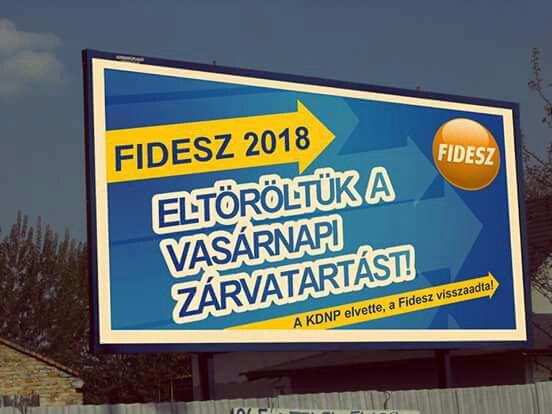 Bukott a Fidesz? eltörölték a boltzárat, és itt 100%-os Vasárnapi bérpótlék!