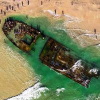80 évvel ezelőtt elsüllyedt hajó bukkant fel újra