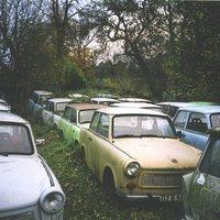 Illegális Trabant-gyűjtemény Angliában