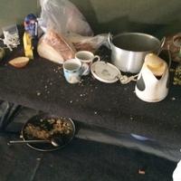 Még mindig sátoroztatnak menedékkérőket Körmenden