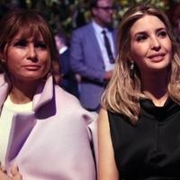 Mit csinál Mrs. Trump a Vatikánban?