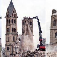 Útban volt egy egykori német templom, lebontották