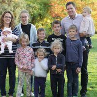 Így telik egy délután a 9 gyermekes magyar olimpikon családjában