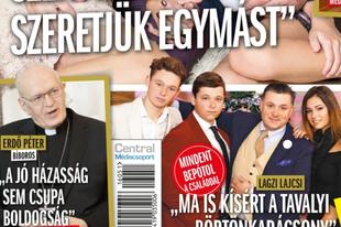 Micsoda karácsony: magyar bíboros egy pletykalap címlapján!