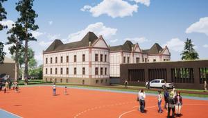 Gimnáziumként születik újjá a tatabányai bányakórház