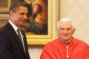 Obama mondatta le Benedek pápát? Ne már!