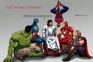 Jézus a szuperhős?