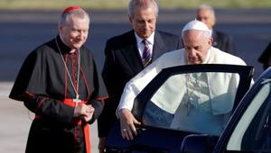 Így lesz a pápa autójából kórház Libanonban