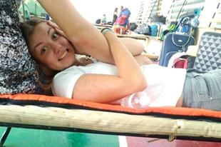 Anikó zarándokol: Testi-lelki erőpróba