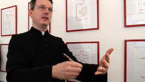 Angelico atya, aki a rajzaival evangelizál