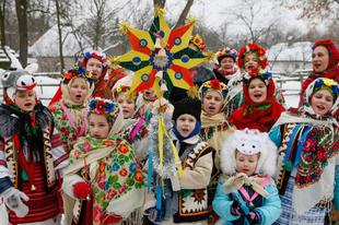 Két karácsonyt tartanak Ukrajnában