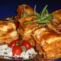 Cukkínivel rakott lasagne