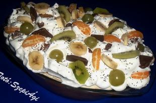 Egzotikus mascarponés, chia magos gyümölcsözön