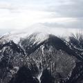 Viharfelhő belsejében a Schneeberg csúcsán