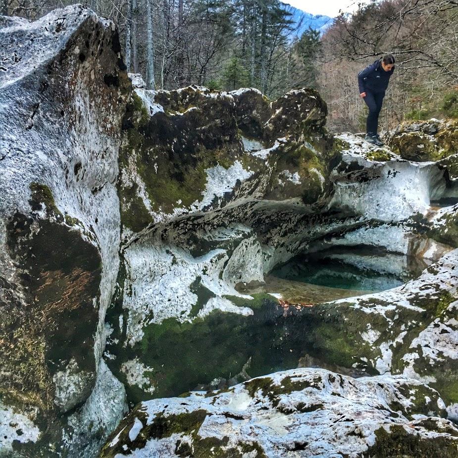 A Mostnica sziklái