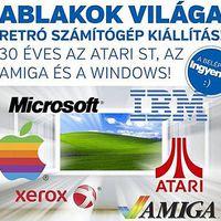 ABLAKOK VILÁGA  Retro számítógép kiállítás