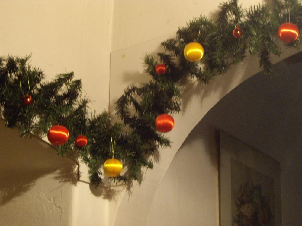itthoni karácsonyi díszítés