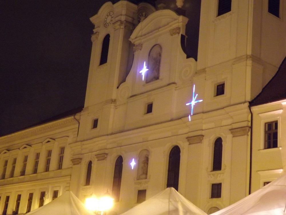Győr, Diótörő zenéjére projektoros vetítés