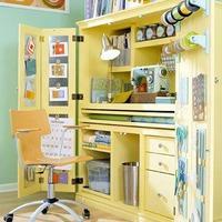 Dolgozószoba szekrénybe rejtve