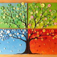 Alkossunk: négy évszakos faliképek