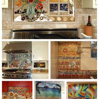 Mozaikkal díszített álomkonyhák