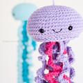 Horgolt medúza (ingyenes minta)