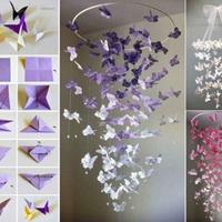 Pillangós függődíszek tavaszi hangulatban