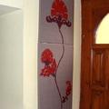 Hangulatos dekoráció előszobába