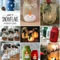 Karácsonyi lámpások befőttesüvegből