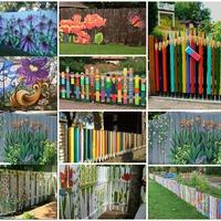 Bámulatos kerítések kreatívan