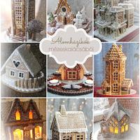 Karácsonyi álomházikók mézeskalácsból