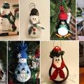 Csodaszép karácsonyi gömbök régi izzókból
