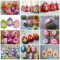 Húsvéti tojások filcanyagból