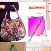 Szabásminták tavaszi táskákhoz - újabb ötletek