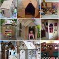 Fantasztikus házikók gyerekeknek kartondobozból