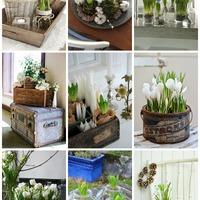 Tavaszváró dekorációs ötletek