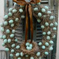 Húsvéti tojáskoszorúk