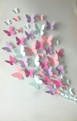 Best 25+ Butterfly Wall Decor Ideas On Pinterest | Diy Butterfly Decorations,  Butterfly Wall And Paper Room Decor