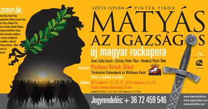 Mátyás, az igazságos - Rockmusical ősbemutató Szigetszentmiklóson
