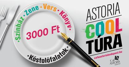 Café Astoria Marton Lászlóval - Kulturális csemegék válogatott finomságokkal