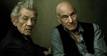 Senkiföldje - Harold Pinter-darabban játszik Ian McKellen és Patrick Stewart