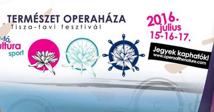 Fesztivállá bővül a Tisza-tavi Tour D'Opera