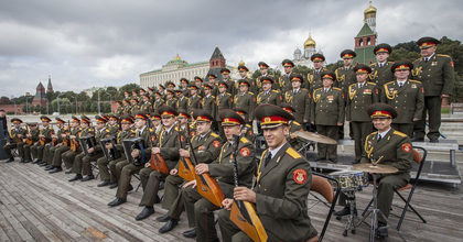 Budapesten lép fel az orosz hadsereg ének- és táncegyüttese