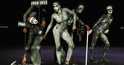 """""""Láthatatlan"""" háborúk koreografikus emlékműve a Trafóban"""