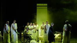 A kolozsvári Julius Caesar az almagrói Nemzetközi Klasszikus Színházi Fesztiválon szerepel