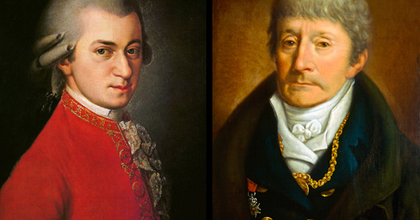 Mozart és Salieri közös szerzeményére bukkantak Prágában